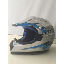 Casco De Moto Cross Tallas M, L Y Xl