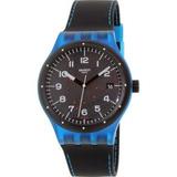 Reloj Swatch Para Hombre Suts402 Sistem51 Correa De Goma