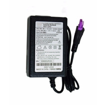 Fonte Impressora Hp Officejet J3600 Plug Roxo + Cabo Energia