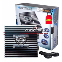 Amplificador Monoblock Clase D Soundstream Black1.1500 1500w
