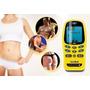 Electroestimulador Muscular 2 Canales 8 Electrodos 55 Prog