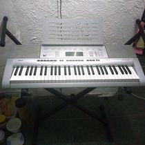 Teclado Casio Ctk 4000 C/suporte Pra Partitura,teclado,fonte