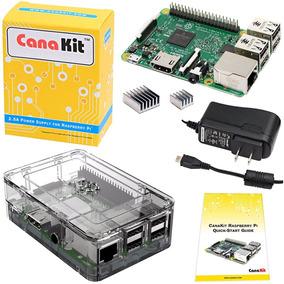 Computador Raspberry Pi 3 Case + 2 Dissipadores + Fonte