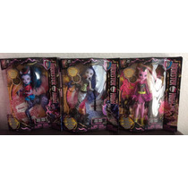 Monster High Unico Pack Sirena Von Boo Avea Trotter Bonita F