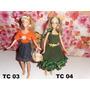 Barbie Muñeca Fashionista Ropa Vestidos+accesorios+zapatos