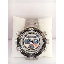 Relógio Masculino Atlantis Prata Analógico Digital Grátis