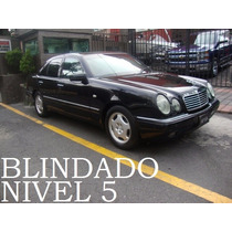 Mercedes Benz E420 1998 Blindado Nivel 5 Maxima Seguridad!!