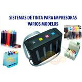 Sistema De Tinta Continua Sin Tinta Varios Modelos