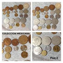 Monedas Antiguas De Mexico Colección 25 De 1946 A 1984 Lt2