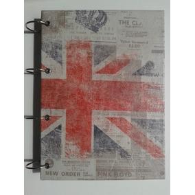 Caderno Argolado G London Londres Inglaterra Caderno Argola