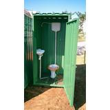 Container Banheiro - Construção Civil - Sans Containers