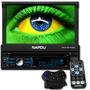 Dvd Player Automotivo Retrátil Com Tv Bluetooth Tela 7 Usb