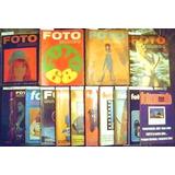 Revista Fotomundo - Lote Del Año 1968 A 1984 - Unico!!