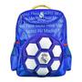 Mochila Escolar Infantil 3d Bola Real Madrid Maccabi Art