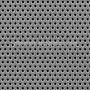 Lamina Microperforada Acero Inox. Circular 1mm. Espesor 1mm.