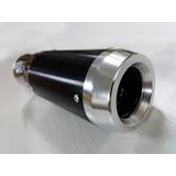 Cola De Escape Cromada Deportiva Aluminio Tunning