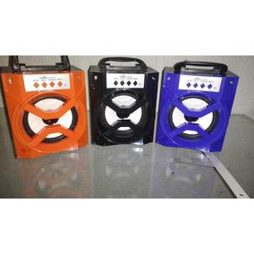 Min Caixa De Som Mp3 Radio Bluetooth D-bh1019