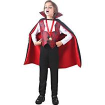 Fantasia Vampiro Conde Drácula Infantil P Halloween Sulameri