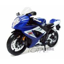 Suzuki Gsx-r 750 1:12 Maisto Promoção Moto