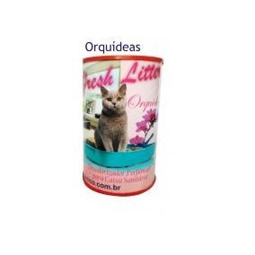 Desodorizador Fresh Litter 120gr ( Orquideas )