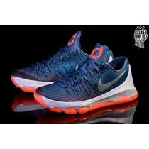Tenis Nike Kd Kevin Durant 8 + Envio Dhl Gratis