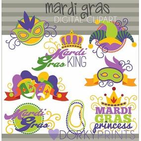 Kit Imprimible Carnaval Imagenes Clipart Cod 4