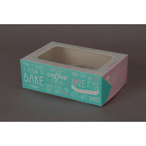 Cajas Para Cupcakes X6 (pack X20) Excelente Calidad