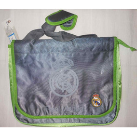 Mochila Real Madrid Oficial Tipo Morral Messenger