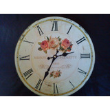 Hermoso Reloj De Pared Estilo Country