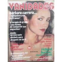 Revista Vanidades De Marzo De 1981,bárbara Carrera