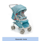 Carrinho Bebê Maranello Verde Galzerano