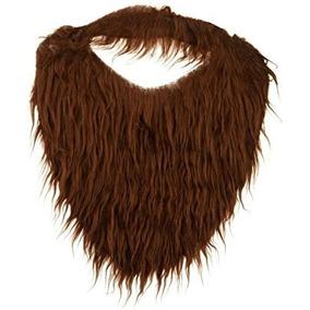 Disfraz Marrón Barba Y Bigote De Accesorios De Vestuario