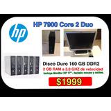 Computadora Completa Hp 7900 + Monitor , Teclado,remate !