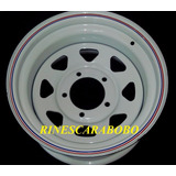Rin De Acero 15x8 6 Huecos, Toyota, Chevrolet, Ford, Pick Up