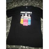 Camiseta Absolut Vodka Tamanho Gg