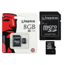 Cartao De Memória Kingston 8gb Micro Sdhc C/ 1 Adptador