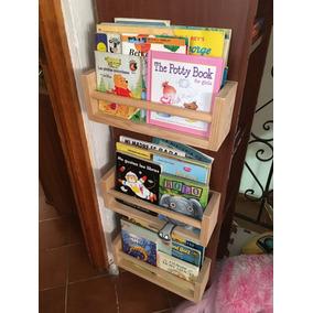 Repisa De Madera Especiero Librero 35 Cm
