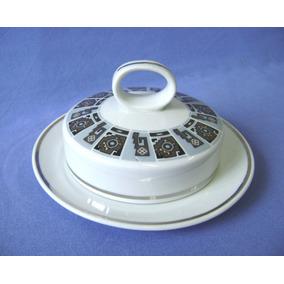 Manteigueira Porcelana Schmidt - Decada 70