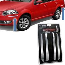 Friso Para_choque Cromado Chevrolet Prisma 2012/ 4pçs