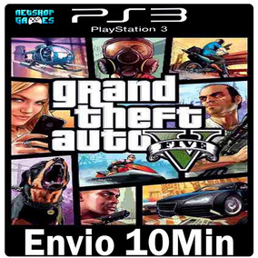 Grand Theft Auto V | Gta 5 | Português | Psn - Ps3