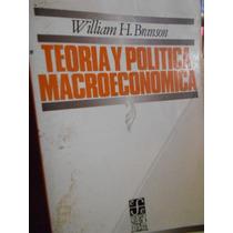 Teoría Y Política Macroeconómica. William H. Branson