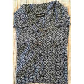 Camisa Manga Corta Mca Claiborne ca039210a213e