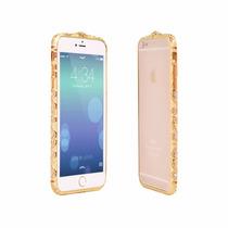 Hermoso Bumper Con Cristales Tipo Sw Iphone 6 Y 6, 7plus