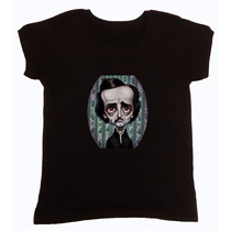 Remera Edgar Allan Poe Personajes Hotarucolections
