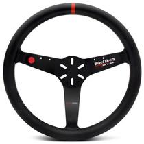 Volante Esportivo Shutt Fueltech Ftr Preto Universal S/ Cubo