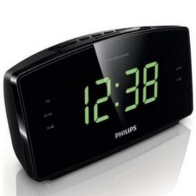 Rádio Relógio Fm Digital - Led - Aj3400 -bivolt - Philips
