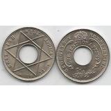 Moneda De West Africa 1/10 Penny Año 1931