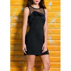 _ Oferta Vestido Para Fiesta Con Aplicacion En Red 1197617