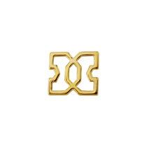 Dije Cruz Marroquí Cadena Ancla Chapa De Oro 22 Kilate