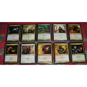 10 Mazos Magic En Español Rtr/gtc 600 Cartas Mtg Bsas